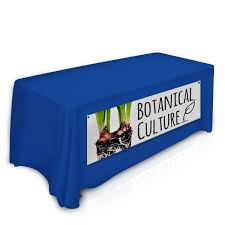 Vinyl Table Cover Custom Printed Vinyl Table Front Banner