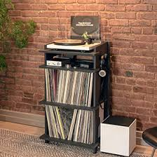 record player table ikea 27 vinyl record storage and shelving solutions