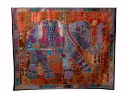 tapestry home decor handmade elephant tapestry wall hanging patchwork wall tapestry