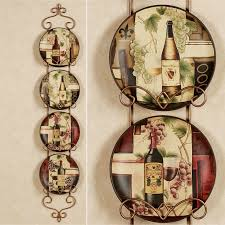 Grapes And Wine Home Decor I Decorative Plates For The Home Pinterest Kitchens