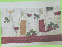 Coffee Themed Curtains Tuscan Wine Grape Kitchen Decor New Curtains Theme And Homes
