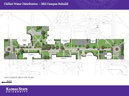 Kansas State University Campus Map by Chilled Water Plant And Distribution Project Campus Projects