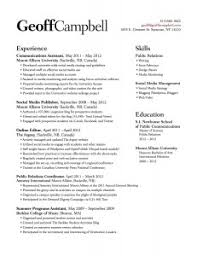 Resumes For Office Jobs by Resume Project U2013 Geoff Campbell Gra617