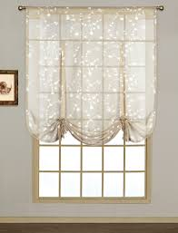 Tie Up Valance Curtains Tie Up Curtains Free Home Decor Techhungry Us