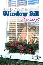 Diy Window Sill Christmas Decorations by 613 Best Real Christmas Images On Pinterest Christmas Ideas