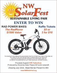 Rad Power Bikes Electric Bike by Rad Power Bike Raffle Shoreline Solar Project