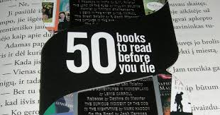 50 books to read before you die how many you read
