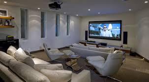 Basement Media Room Decorations Dazzling Basement Media Room Design Idea