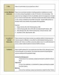 sample qualitative research proposal format example good template