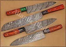 damascus chef knife custom manufactured ebay
