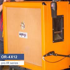 Orange Cabinet 4x12 Or 4x12 Guitar Speaker Cabinet Ir Library Based On A Orange 4x12