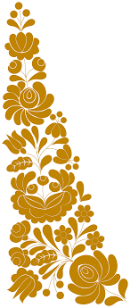 clipart traditional flower ornament