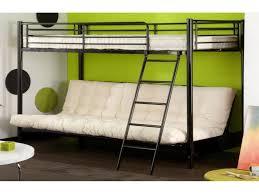 lit mezzanine 2 places avec canapé lit lit en hauteur 2 places unique mezzanine en 90 cm avec