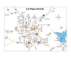 las vegas blvd map maps of las vegas detailed map of las vegas city tourist map