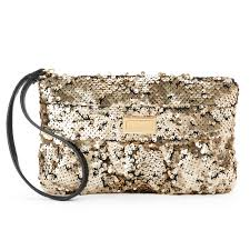 couture jc 700 ruched sequin wristlet