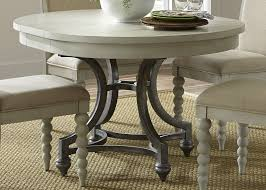 buy harbor view iii round dining table by liberty from www
