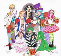 lydmc trick or treat halloween costume art