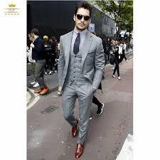 light gray suits for sale pas cher slim fit 2015 mens smokings custom light gris grooms hommes