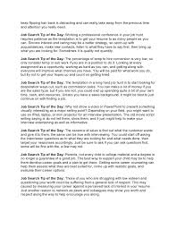 Best Way To Present Resume Job Search Tip Of The Day