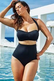 high waisted swimsuits swim sexy eclipse retro high waist bikini