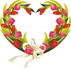 Tulip Wreath Tulips Wreath Clipart Clipart Me