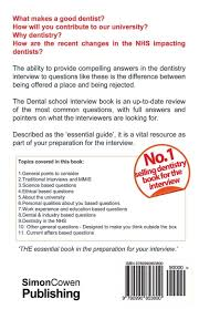 dental interview questions and answers with full