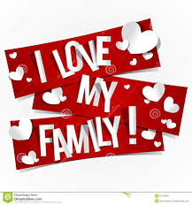 I Love My Family Quote by I Love My Family Illustration 37750955 Megapixl