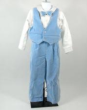 Light Blue Vest Tfw Baby Boys 4 Pc Vested Suit Set Shirt Tie Vest U0026 Pants 12