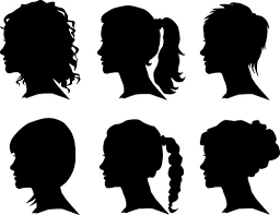 free silhouette images creative man and woman silhouettes vector set free vector in