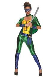 Ninja Turtle Halloween Costume Girls Leonardo Women Bodysuit Teenage Mutant Ninja Turtle