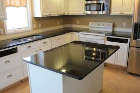granite countertops with cabinets for