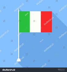 Flag Of Itali Flag Italy Vector Illustration Stock Vector 348817853 Shutterstock