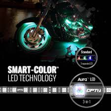 Motorcycle Led Strip Lights by 10pc Motorcycle Led Strip Light Kit Set Red Blue Yellow Purple