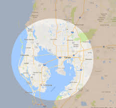 Tampa Bay Map Sam Ivy K 9 Consultants Tampa Bay Service Area