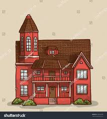 small cute house vector stock vector 299593790 shutterstock