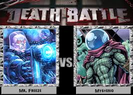 Mr Freeze Meme - death battle idea mr freeze vs mysterio by dark carioca on deviantart
