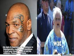Tyson Meme - mike tyson by digimon223 meme center