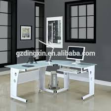 desk l shaped glass desk staples desk desk l shaped desk office