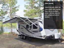 Trailer Awning Lance 2295 Travel Trailer Standard Exterior Kitchen And