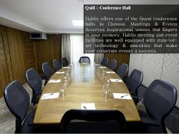 Quill Conference Table 5 Hotels In Chennai Hablis