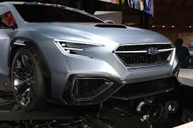 subaru viziv 7 subaru viziv performance concept is a peek at the future wrx