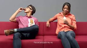 mcdonald u0027s random red couch commercial youtube