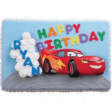cars birthday rally cake u0026 cupcakes wilton