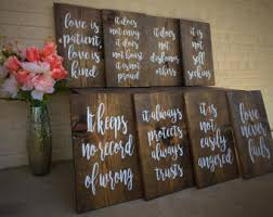 rustic wedding decorations country wedding etsy