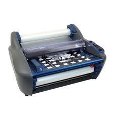 business card laminator gbc heatseal ultima 35 ezload 12 roll laminator 1701680