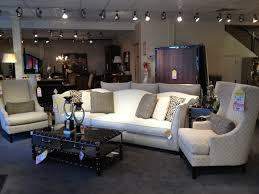 Armen Living 844 Barrister Sofa by Elegant White Sofa Paired With High Back Chairs Carol House