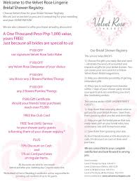 bridal shower registry ideaswritings and papers writings and papers