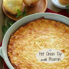 Best Appetizers For Thanksgiving Day Onion Dip With Boursin