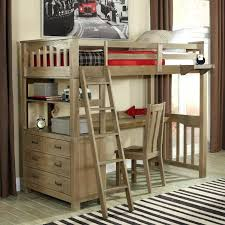 Bunk Bed With Study Table Bunk Beds With Desk Underneath Katecaudillo Me