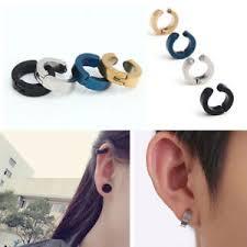 clip on earrings for men men s charm titanium steel magnetic clip on earring women no